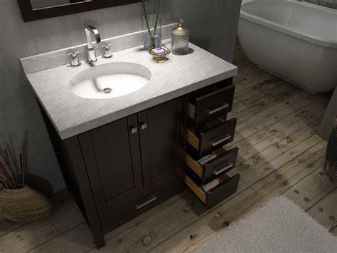 bathroom vanity offset sink pin  appellation
