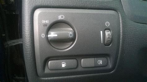 fuel door release button