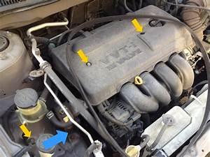 Fixing A Broken Bolt Of The Serpentine Belt Tensioner  Toyota Corolla