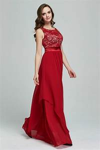 kettymore women chiffon long skirt party dress red kettymore With long red dress for wedding
