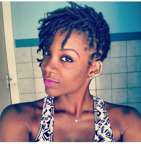 short loc hairstyles google search locs pinterest