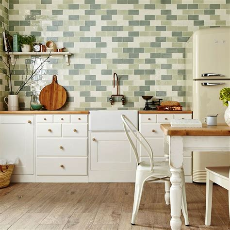 metro tile kitchen bring some greens into your home with these 4106
