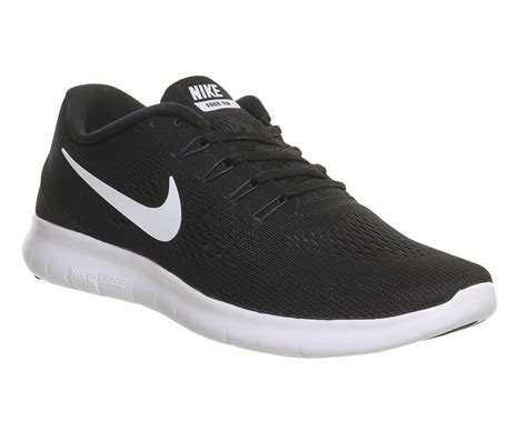 Nike Free Run Black White Anthracite His Trainers