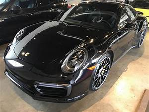 Dealer Inventory 2017 Porsche 911 Turbo S Coupe Jet Black ...