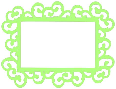 High quality is available for most of the frames. Paper This And That: Swirly Frame SVG Files