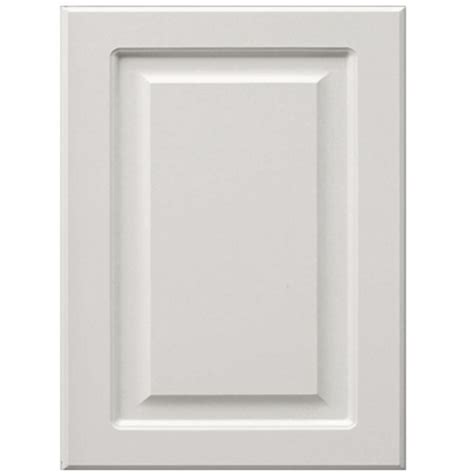 lowes white cabinet doors shop surfaces bennett 11 in x 15 in white engineered wood