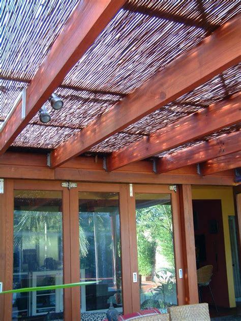 natureshade bamboo privacy screens paneling fencing sydney house  bamboo pergola