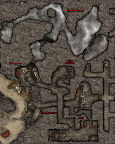 Just chatting, wow, strategy games, rpg, mal sehen was noch alles. 40x50 Roll20 Goblin and Spider Cave : dndmaps