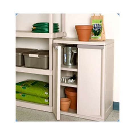 Sterilite 2 Shelf Storage Cabinet 2 Pack by Sterilite Heavy Duty 2 Shelf Cabinet 2 Pack 01408501