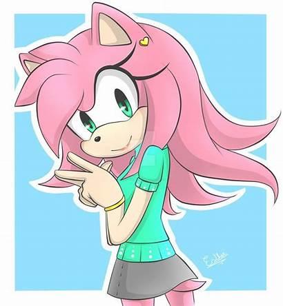 Amy Rose Deviantart Sonic Hedgehog Furry Visit