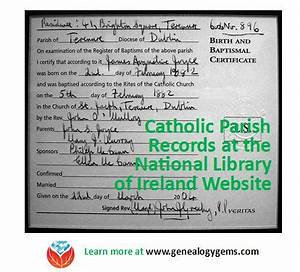 premium check registers irish catholic parish registers from national library of