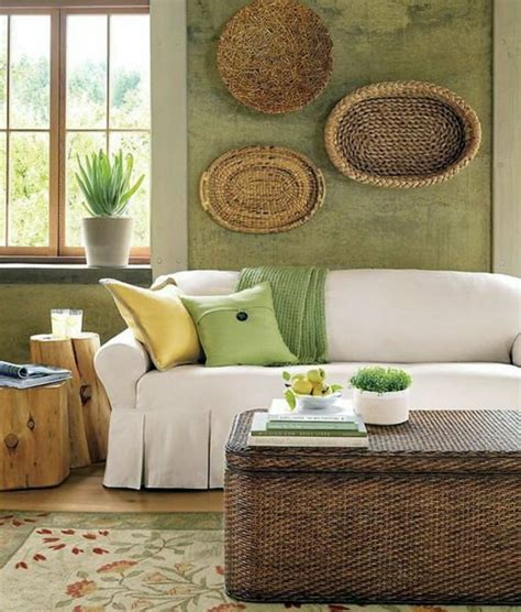 Living Room Colour Ideas Brown Sofa by Green Wall Color Can Be Reached By A Trendy Decor