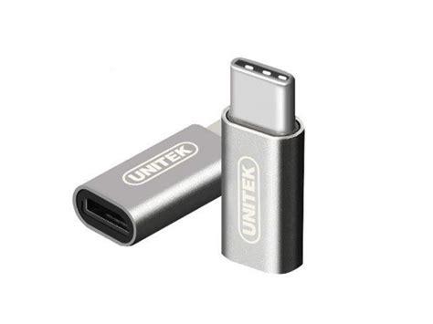 usb typ c adapter unitek adapter micro usb usb typ c przejści 243 wki sklep komputerowy x kom pl