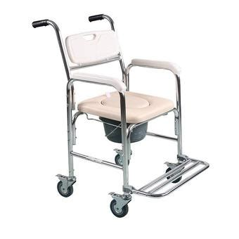 bedside commode chair philippines cofoe zc018 commode wheelchair aluminum alloy hospital