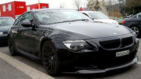 Blacked Out Bmw M6 Parked Walkaround In Zurich