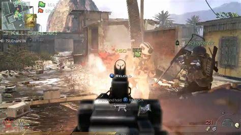 modern warfare  multiplayer gameplay uncut flag runner