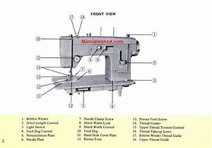 Kenmore 148 12170 Sewing Machine Instruction Manual