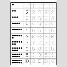 Writing Numbers Worksheets Kindergarten  1000 Ideas About Number   First Grade Ideas