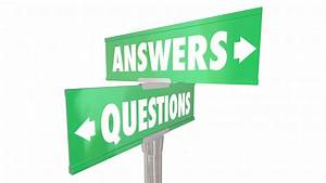 Questions Answers Q And A Words Signs 3d Animation Motion Background