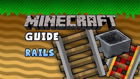 minecraft rails guide