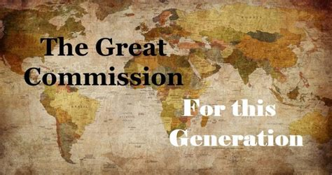 great commission   generation young adults