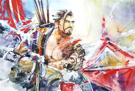 Hanzo By Abstractmusiq On Deviantart