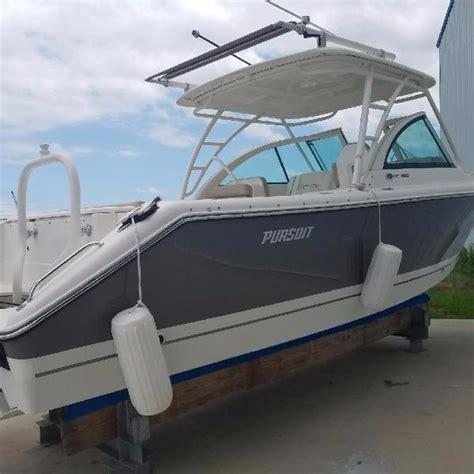 Pursuit Boats Dc 265 Used pursuit 265 dc boats for sale boats