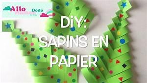 Bricolage Facile En Papier : diy sapins de no l en papier bricolage facile pour no l ~ Mglfilm.com Idées de Décoration