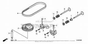 Honda Hrr216k9 Vlaa Lawn Mower  Usa  Vin  Mzcg