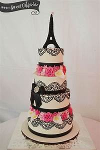 Sweed Paris : paris theme quince cake quince inspiration pinterest paris themed cakes cakes and wedding ~ Gottalentnigeria.com Avis de Voitures