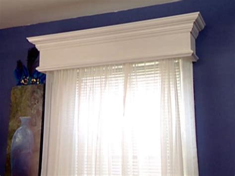 Diy Cornice Boxes by Weekend Projects Construct A Window Valance Hgtv