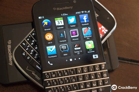 one month in with the blackberry q10 crackberry