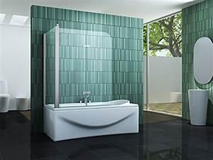 Duschtrennwand Badewanne Glas : eck duschtrennwand perinto 70 f r die badewanne duschw nde ~ Michelbontemps.com Haus und Dekorationen