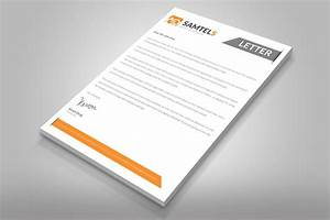 20 professional company letter head templates graphic cloud With custom letter design
