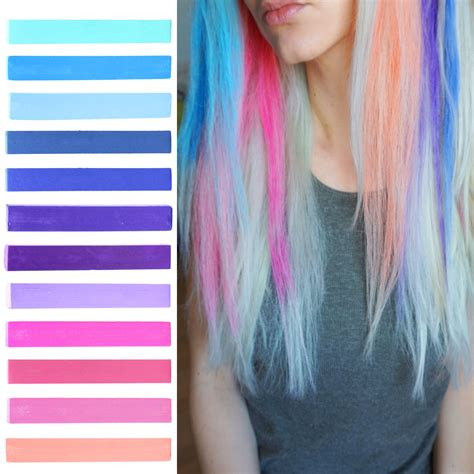 Best Galaxy Hair Dye Set Galaxy Ombre Hair Color Set Of