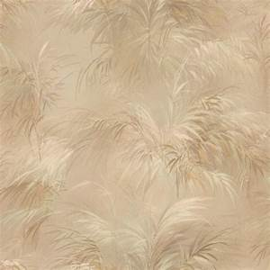 Shop Brewster Wallcovering Fern Pattern On A Beige ...