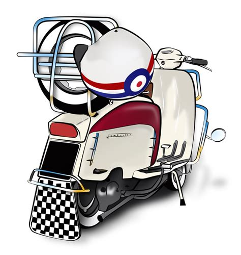 Scooter clipart scooter lambretta, Scooter scooter ...