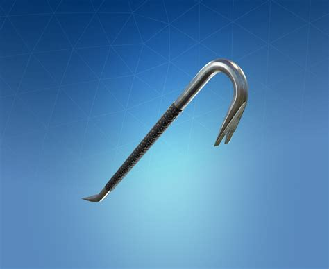 crowbar fortnite pickaxe harvesting tool