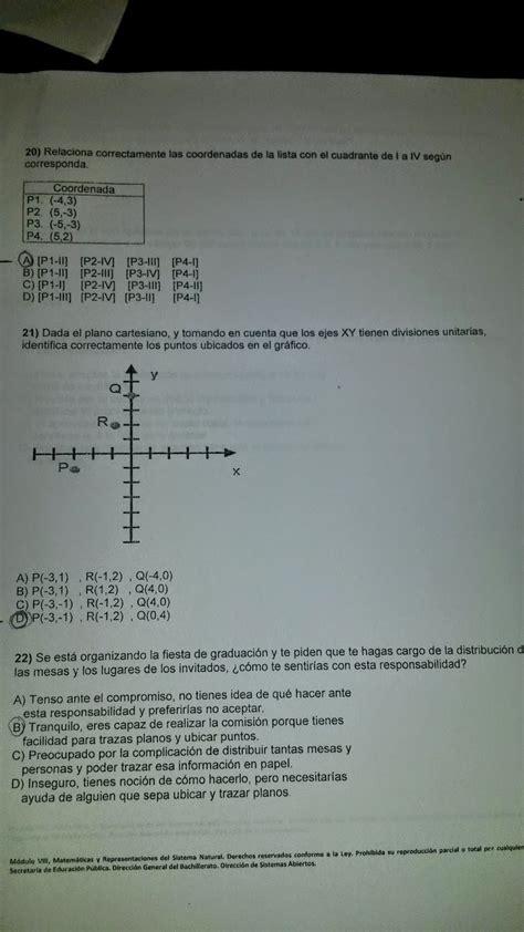 examines prepa nuples 22 módulos
