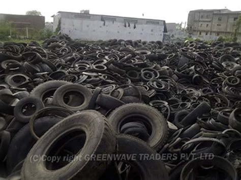 Used Old Scrap Waste Rubber Tires Tyres Nylon Redial