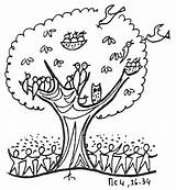 Mustard Tree Seed Parable Coloring Clip Clipart Pages Sunday Crafts Activities Bible Faith Craft Lesson Colouring Church Parables Clipartkid Children sketch template
