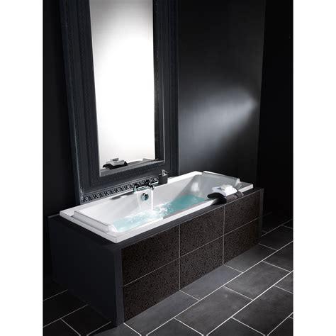 panier rangement cuisine baignoire rectangulaire l 180x l 80 cm blanc jacob