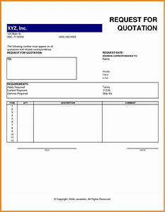 Request for quote template art resume examples for It quotation template
