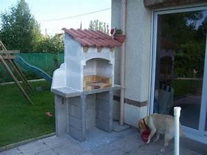 mon barbecue fait maison With barbecue en pierre fait maison