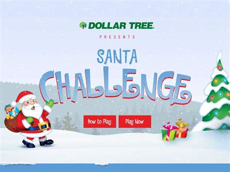 Maybe you would like to learn more about one of these? Dollar Tree's Santa Challenge Christmas Game Sweepstakes | Christmas games, Sweepstakes, Dollar ...