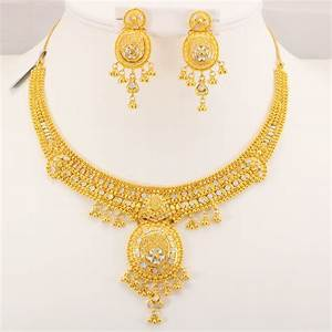 22 Carat Indian Gold Necklace Set 46.6 Grams | Gold Forever