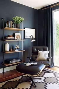 Dunkle Farbe überstreichen : holz farbe kombinieren schick dunkle wandfarbe nussbaum ~ Lizthompson.info Haus und Dekorationen