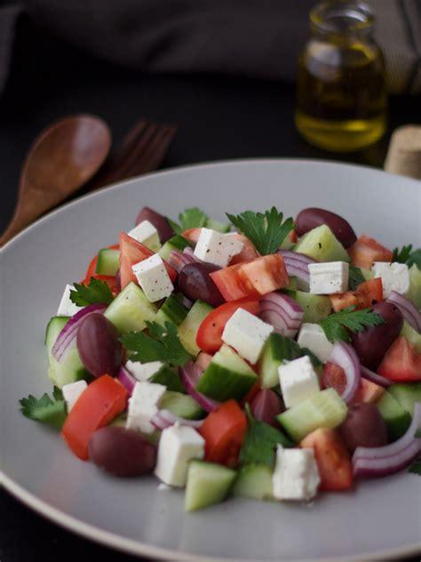 Salada grega   Blog da Leili