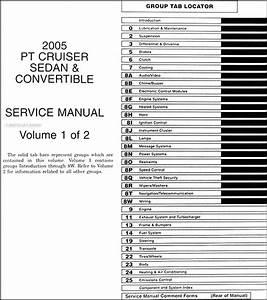 2005 Chrysler Pt Cruiser Repair Shop Manual Original 2