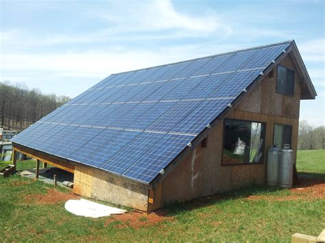 Solar Panel Kit For Shed by